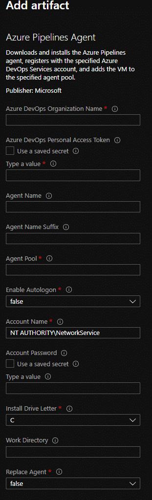 DevTest Labs Azure DevOps Agent
